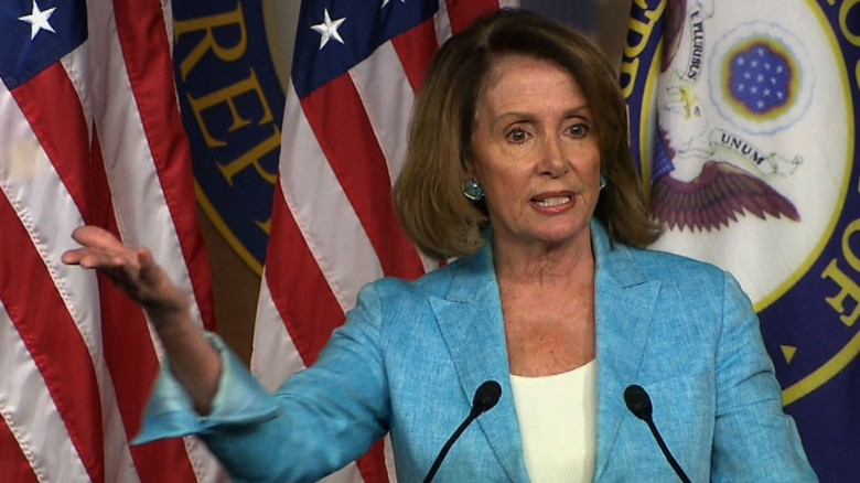 Nancy Pelosi Republican shooting scalise _00001211