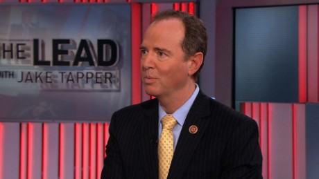 adam schiff with tapper on the lead