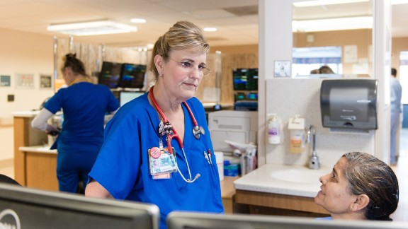 Dawn Nagel, a sepsis nurse, spends her day trying to identify and treat sepsis patients quickly so they don