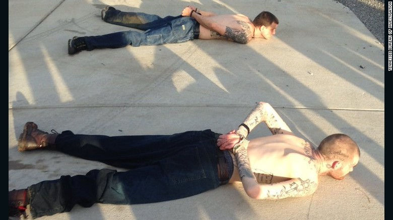 Escaped inmates caught by Tennessee homeowner