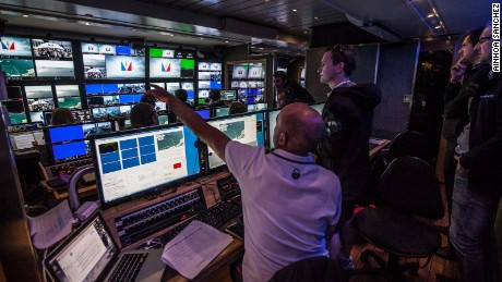 The technology hub for the America's Cup