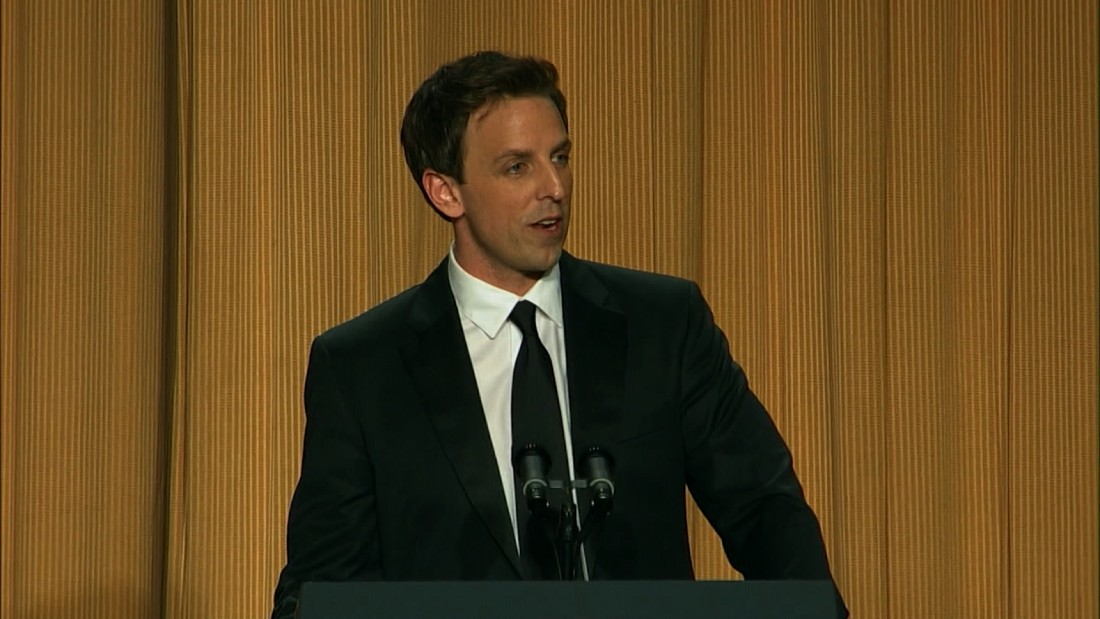 Correspondents Dinner >> Seth Meyers has a long history with Trump - CNN Video
