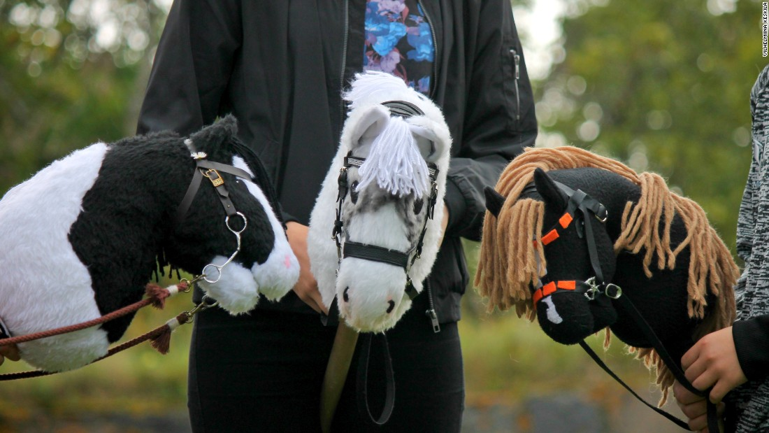 """My favorite thing is the community,"" says Elsa Salo, one of the stars of Hobbyhorse Revolution."