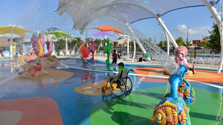 Image result for a man built amusement park for his disabled