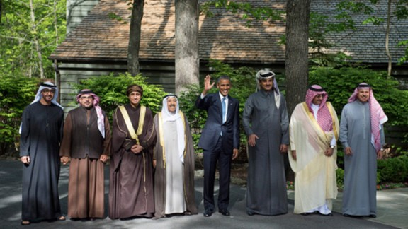 President Barack Obama only visited Camp David a few dozen times, but he did hold the Gulf Cooperatoin Council Summit there in May 2015.