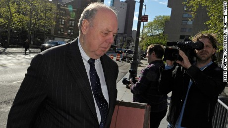 John Dowd, lead attorney for Raj Rajaratnam, co-founder of Galleon Group LLC, enters federal court in New York, U.S., on Thursday, May 5, 2011.