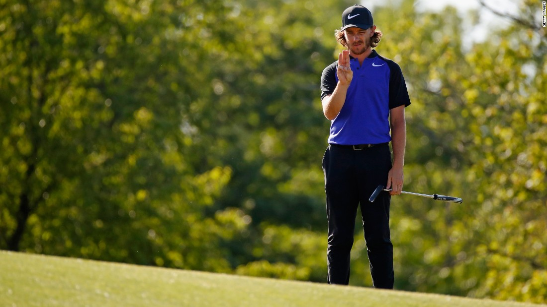 Tommy Fleetwood was another Englishman in a share of the lead at seven under after two rounds Friday.
