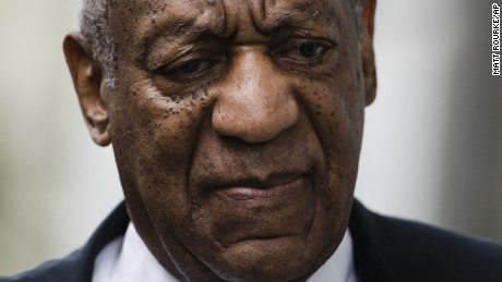 Bill Cosby arrives at the Montgomery County Courthouse during his sexual assault trial, Saturday, June 17, 2017, in Norristown, Pennsylvania.