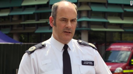 London Police Commander Stuart Cundy has been inside the devastated building.