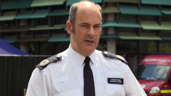 London Police Commander Stuart Cundy has been inside the devastated building.