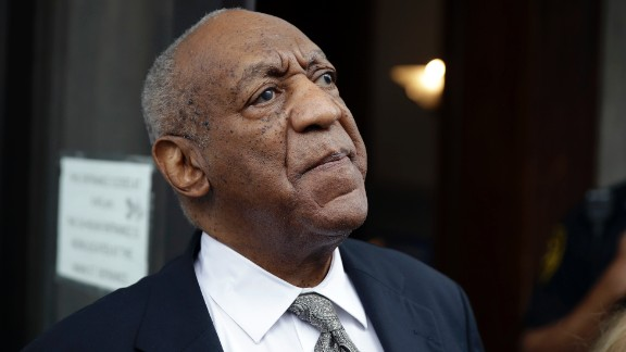 Bill Cosby exits the Montgomery County Courthouse after a mistrial was declared in Norristown, Pennsylvania on Saturday, June 17, 2017. Cosby's trial ended without a verdict after jurors failed to reach a unanimous decision.