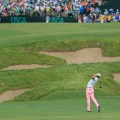 US Open day three Justin Thomas second shot 18