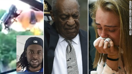 Cosby, Castile, Carter: Three trials that gripped the nation