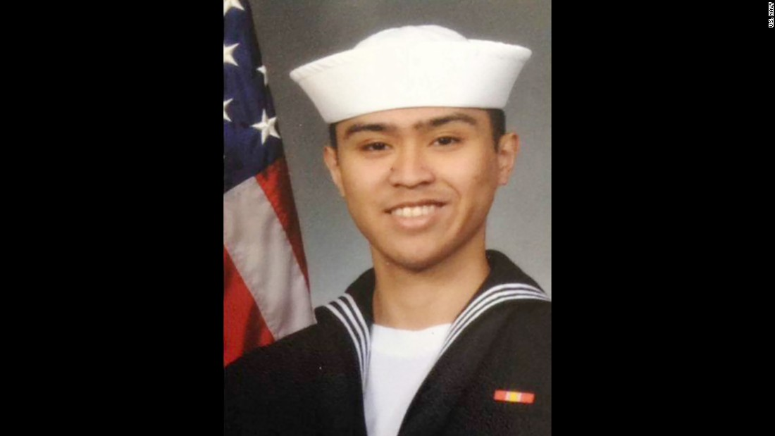 Fire Controlman 2nd Class Carlos Victor Ganzon Sibayan, 23, from Chula Vista, California.