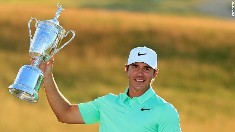 Golfer winner