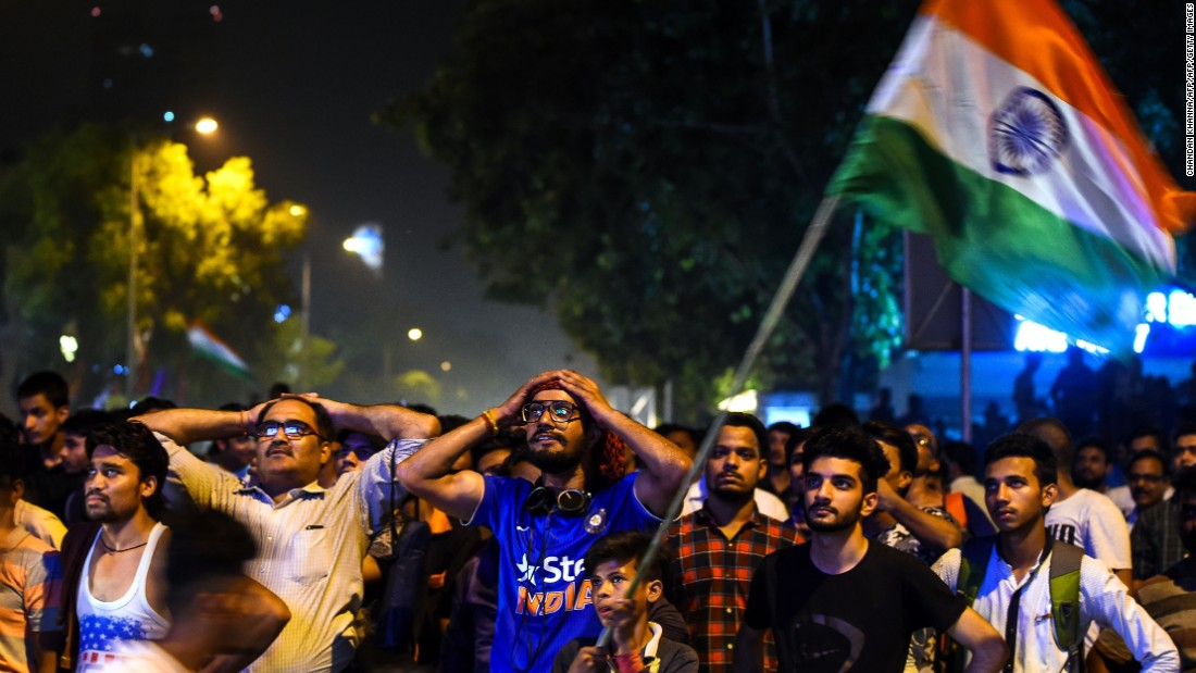India were rattled and fans in New Delhi despaired as their team limped to 158 -- suffering a 180-run defeat.