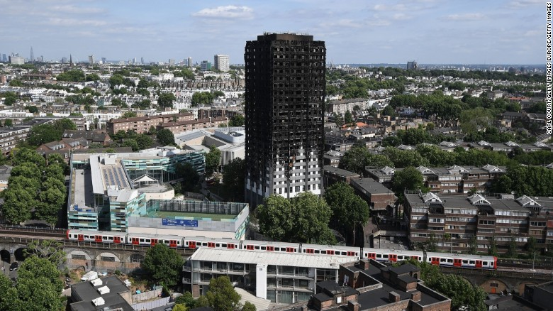 Police: 71 died in the Grenfell Tower fire