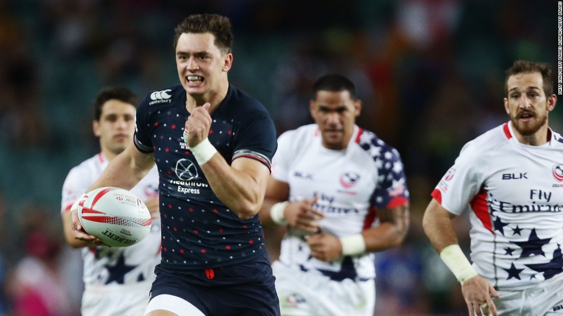 Alex Gray spent eight years as a professional rugby player, representing England sevens and several English domestic teams. But he's now decided to take a different career path...