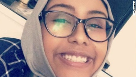 Nabra Hassanen was killed early Sunday.