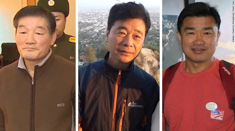 3 Americans still being held by North Korea