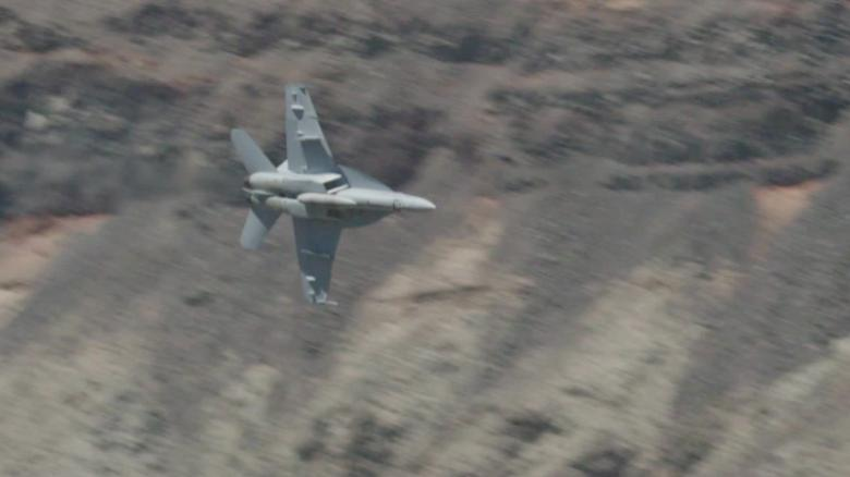 The only national park where the military can fly jets