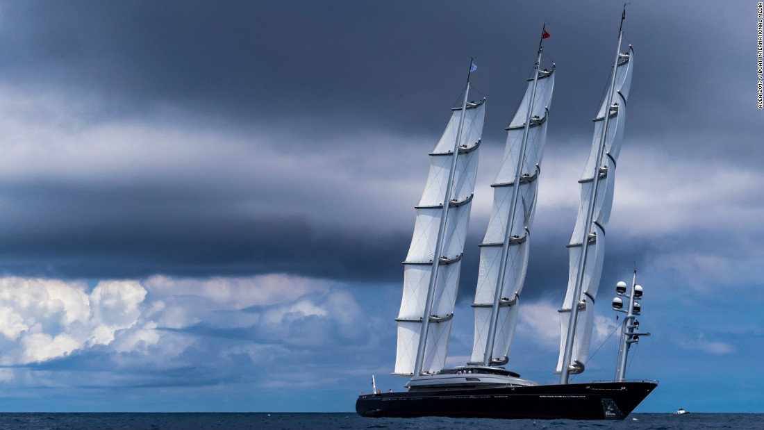 Another 14 superyachts -- spread across classes A, B and C -- made up a total of 20 crews. Maltese Falcon (pictured) finished third in Class C.