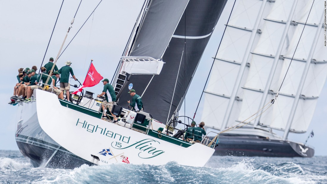 "Class A featured just three crews and was won by Highland Fling, which was launched in 2016. ""We set out to keep it as simple as possible and let the boat do the work,"" tactician Stuart Childerley, a past Team GB Olympian, told Boat International."