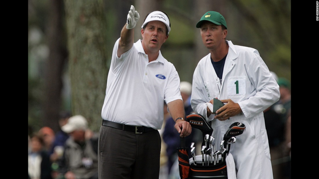 After a succession of near misses, Mickelson clinched his first major, the Masters at Augusta, in 2004.