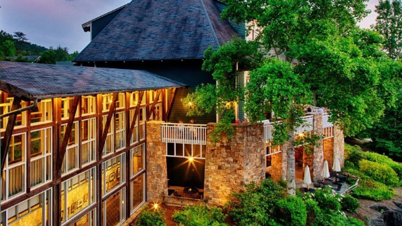 Brasstown Valley Resort and Spa in Young Harris, Georgia.