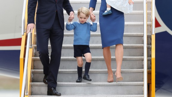 Royal toddlers are another one of the few groups that can currently get away with office-casual shorts.