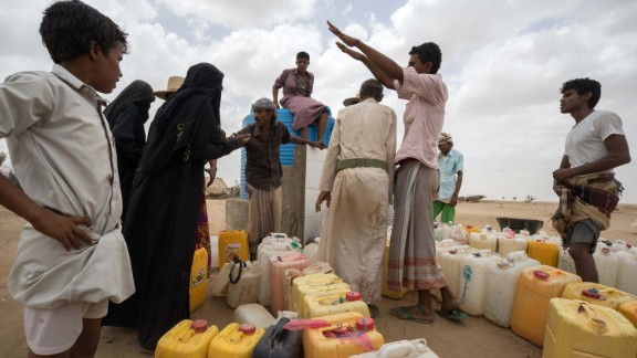 ABS IDP SETTLEMENT,  YEMEN - 6 MAY 2017. 