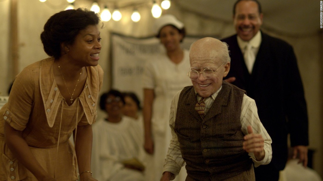"<strong>""The Curious Case of Benjamin Button"":</strong> Taraji P. Henson and Brad Pitt star in this fantasy film about a man who ages backwards. <strong>(Amazon Prime) </strong>"