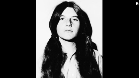 Patricia Krenwinkel, 21, after her arrest in December 1, 1969.
