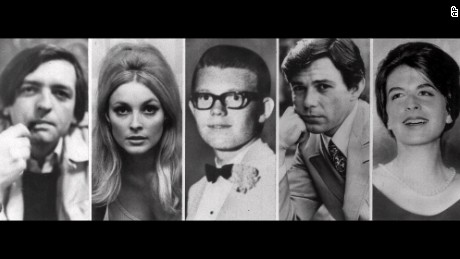 Those killed at the home of Roman Polanski. From left, Wojciech Frykowski, Sharon Tate, Stephen Parent, Jay Sebring and Abigail Folger.