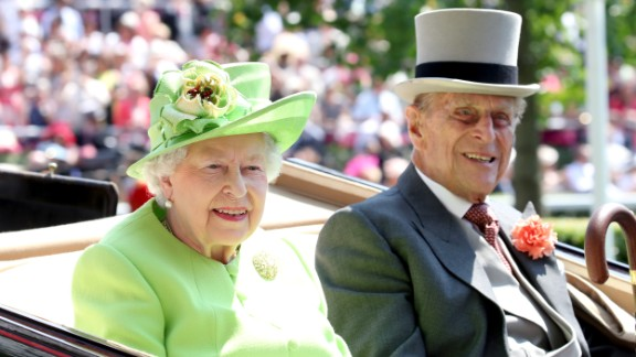 The Queen and Prince Philip arrive at Royal Ascot on Tuesday.