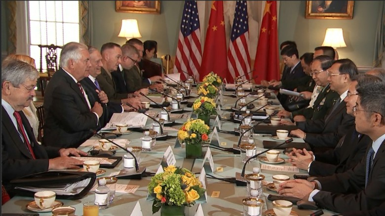 US, China share concerns over North Korea