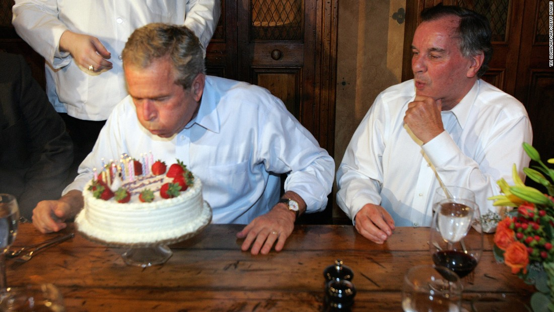 george bush birthday TBT: George W. Bush loves birthdays more than anyone   CNNPolitics george bush birthday