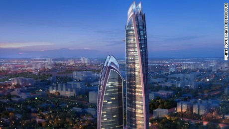 Work begins on the tallest skyscraper in Africa