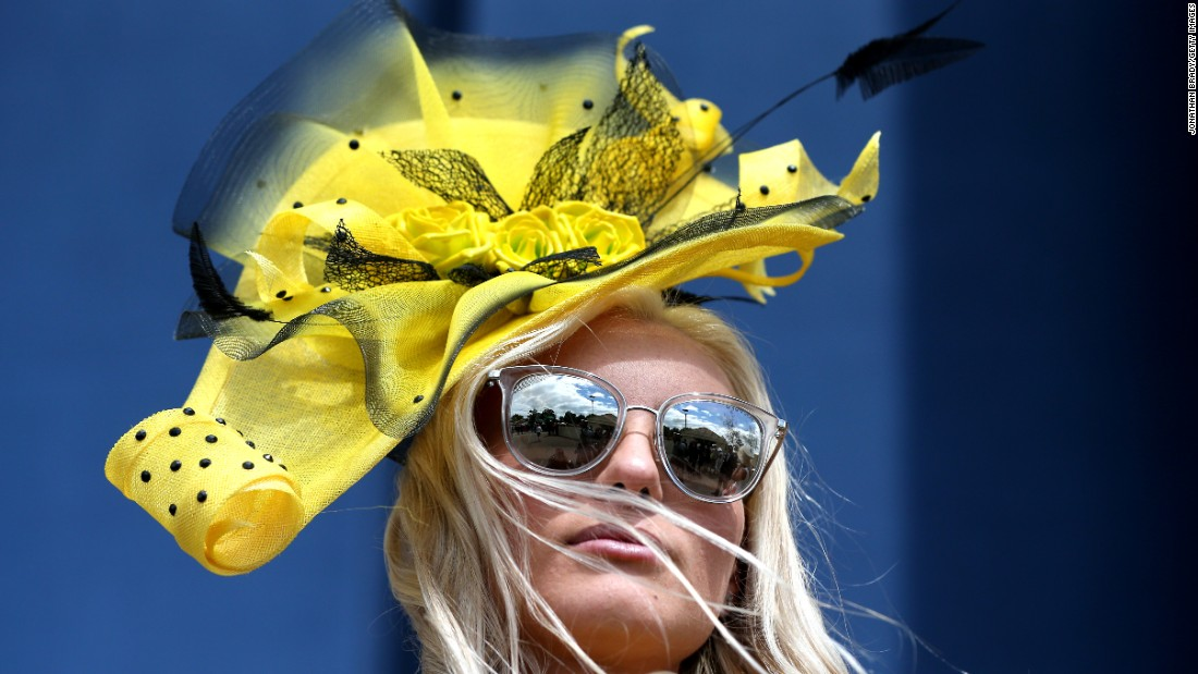 The prestigious Royal Ascot has strict rules when it comes to the dress code for those attending the high-society event. For ladies, the more eye-catching the hat the better, or so it seems.