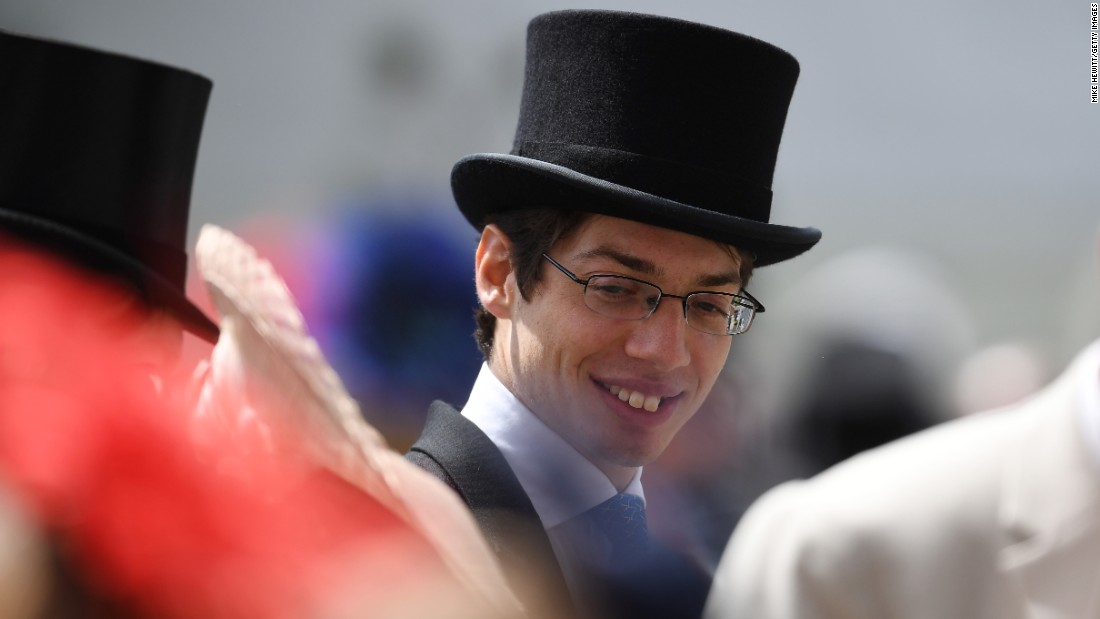 For the first time in Royal Ascot's history, men attending the event were allowed to remove their jackets as the mercury hit record temperatures in England this week.
