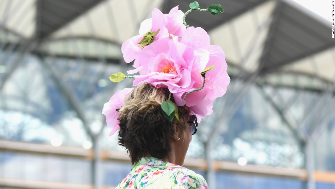 Royal Ascot is about the racing -- and the hats and the bolder the outfit the better.