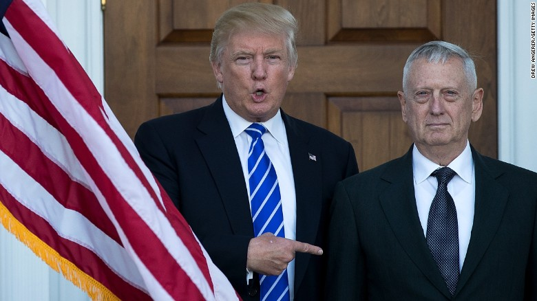 Mattis delivers new warning to North Korea