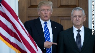 Trump's generals are speaking up