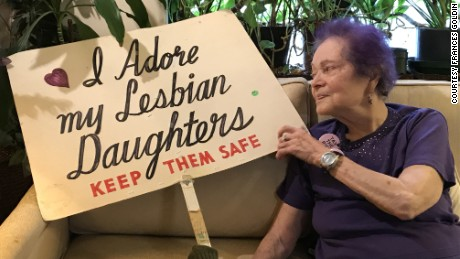 Nearly 50 years of pride for this 93-year-old mom