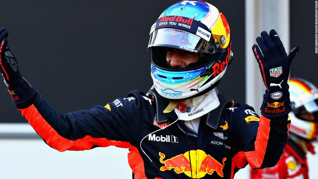 The chaotic race, which saw three safety car periods and one red flag deployed, was won by Australian Daniel Riccardo. It was the fifth win of the Red Bull driver's career. <br />