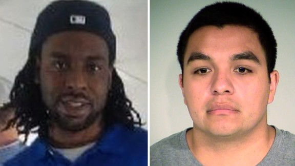 Philando Castile on left, and Jeronimo Yanez, who was acquitted, on right.