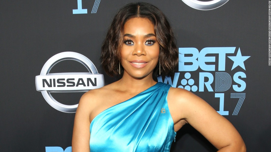 Regina Hall at the 2017 BET Awards.