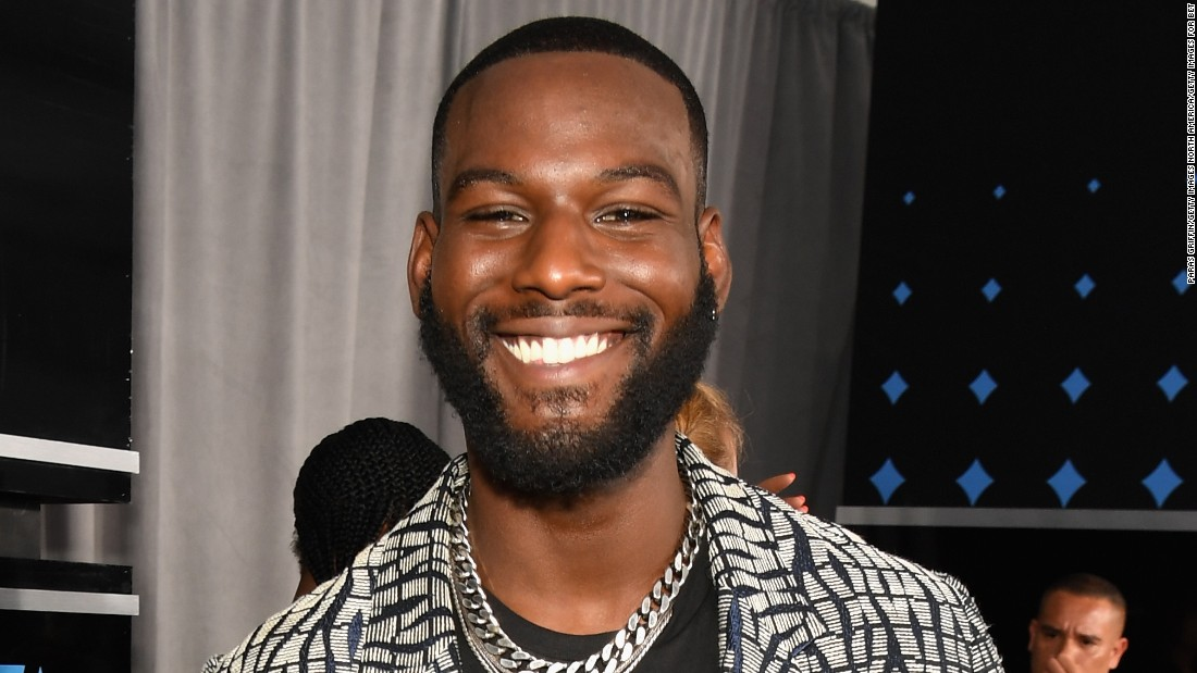 'Queen Sugar's' Kofi Siriboe at the 2017 BET Awards.