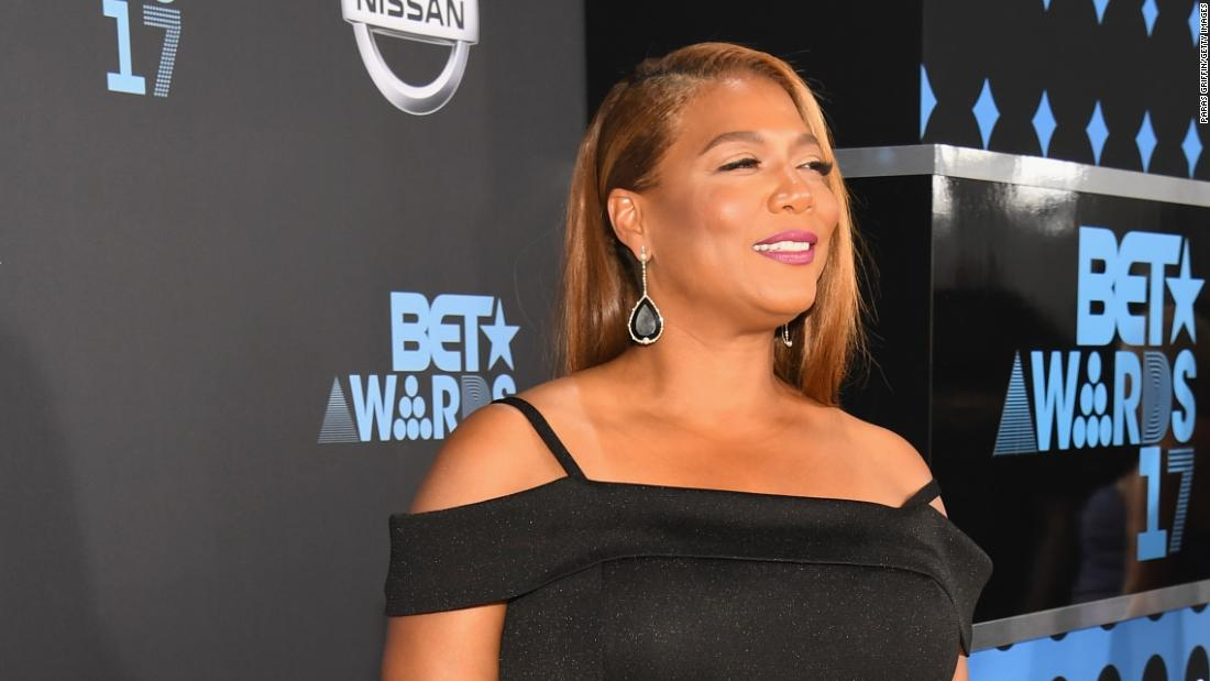 Queen Latifah at the 2017 BET Awards.
