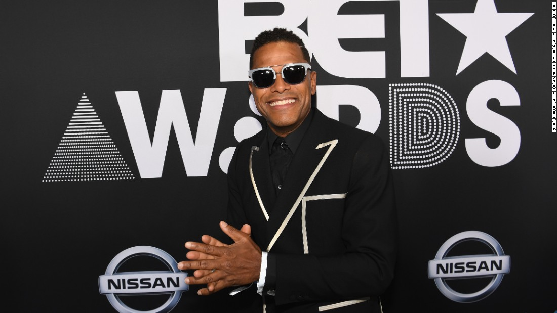 Maxwell at the 2017 BET Awards.